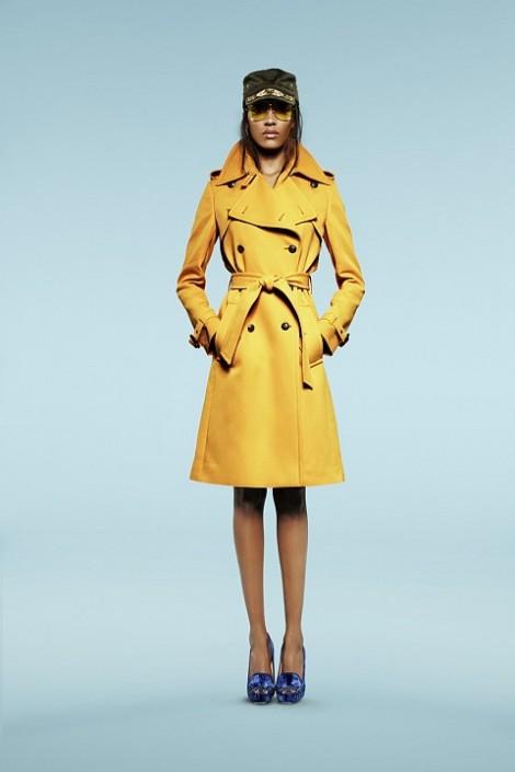 Trench Coat Amarelo