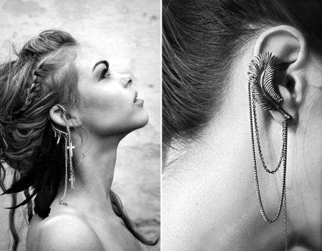 Ear Cuff Correntinha