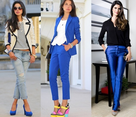 Barbara Machado - Looks: Azul Cobalto 4