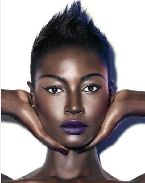 Barbara Machado - Maquiagem - Cores - Batom Pele Negra 1