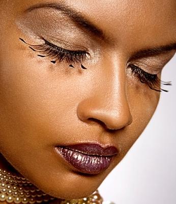 Barbara Machado - Maquiagem - Cores - Batom Pele Negra 2