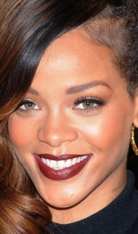 Barbara Machado - Maquiagem - Cores - Batom Rihanna