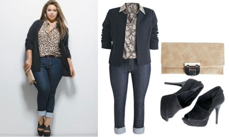 Barbara Machado - Moda Plus Size - Look 1