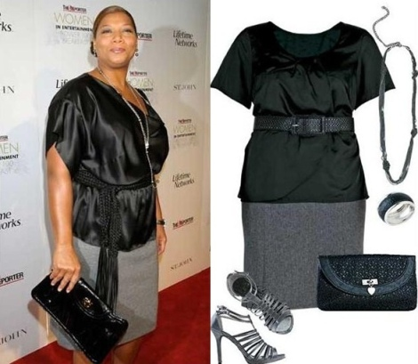 Barbara Machado - Moda Plus Size - Queen Latifah