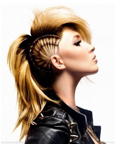 Barbara Machado - Cabelos - Punk Braid 1