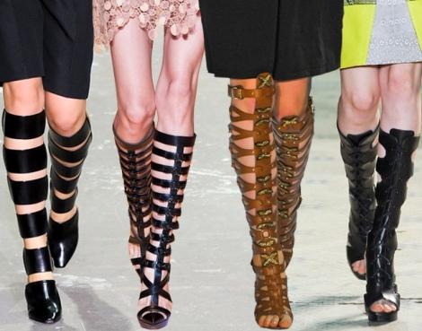 Barbara Machado - Sapatos: Sandálias Gladiadoras no Verão 1
