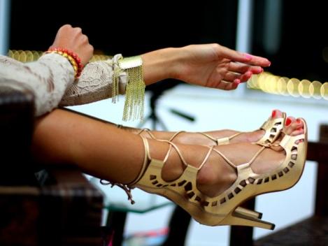 Barbara Machado - Sapatos: Sandálias Gladiadoras no Verão 4