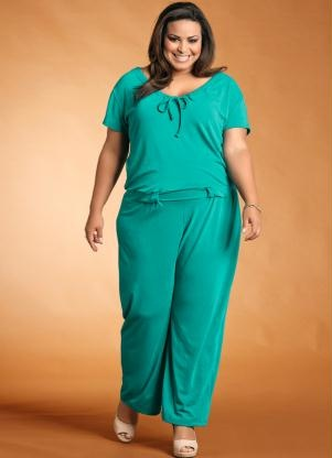 Barbara Machado - Looks - Macacao - tendencia verao plus size 2