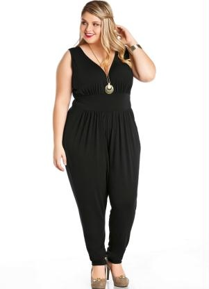 Barbara Machado - Looks - Macacao - tendencia verao plus size 3