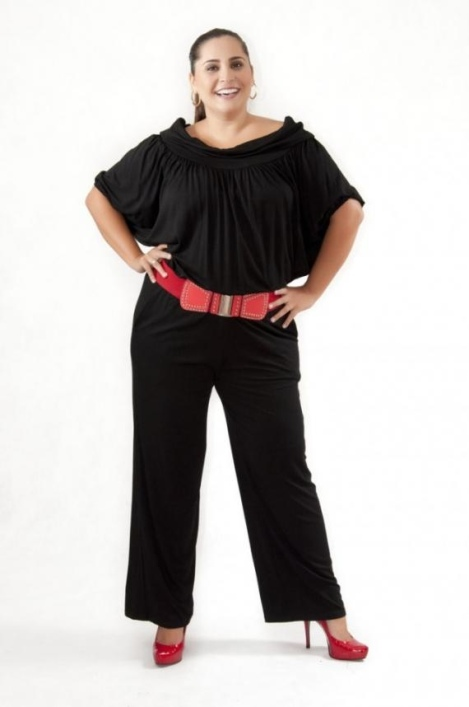 Barbara Machado - Looks - Macacao - tendencia verao plus size 12
