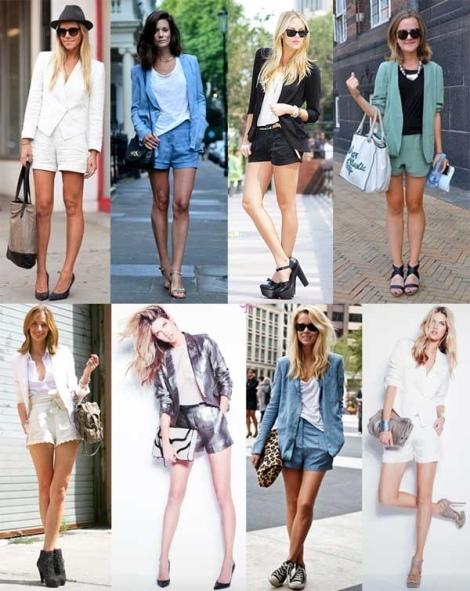 Barbara Machado - Looks - Combinação Blazer + Short