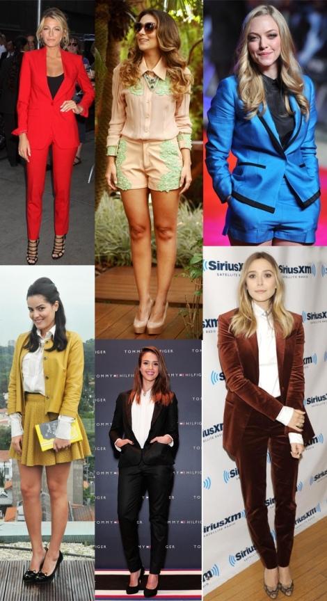 Barbara Machado - Looks - Combinação Blazer + Short 2