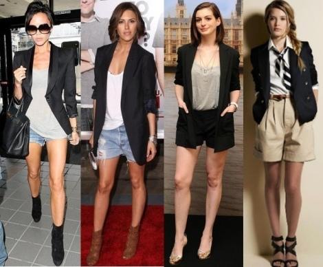 Barbara Machado - Looks - Combinação Blazer + Short 5