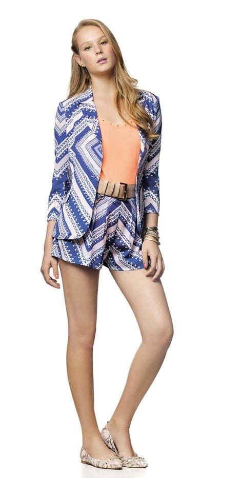 Barbara Machado - Looks - Combinação Blazer + Short 7