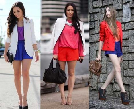 Barbara Machado - Looks - Combinação Blazer + Short 8
