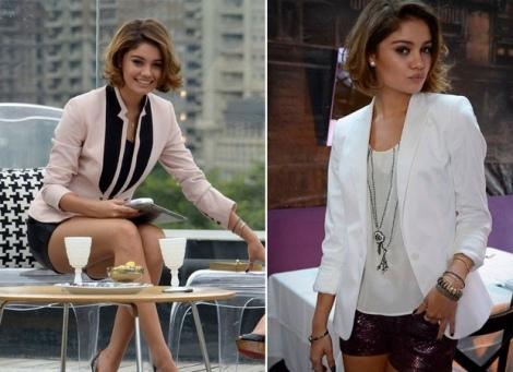 Barbara Machado - Looks - Combinação Blazer + Short 10