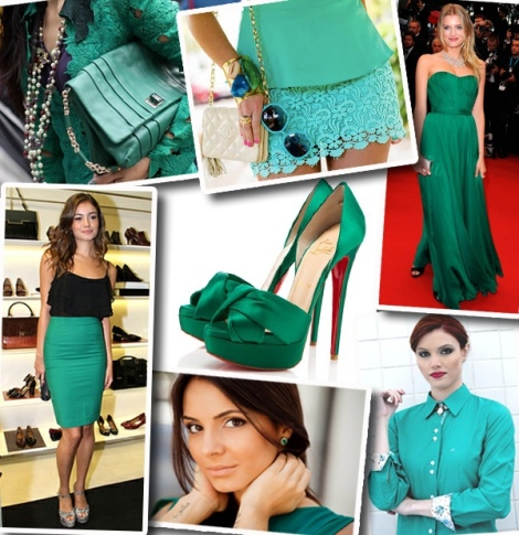 Verde Esmeralda - Eleita Cor do Ano 2013 2