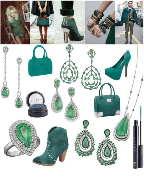 Verde Esmeralda - Eleita Cor do Ano 2013 4