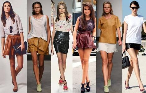 Barbara Machado - Looks - Couro para o Verao 2013 - 3