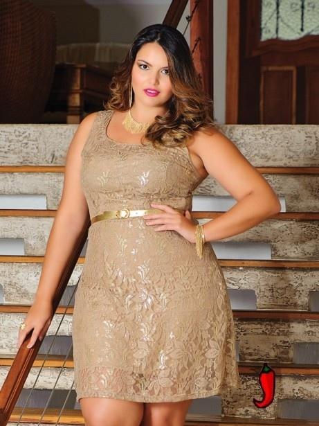 Barbara Machado - Moda Plus Size - Rendas Coloridas 6