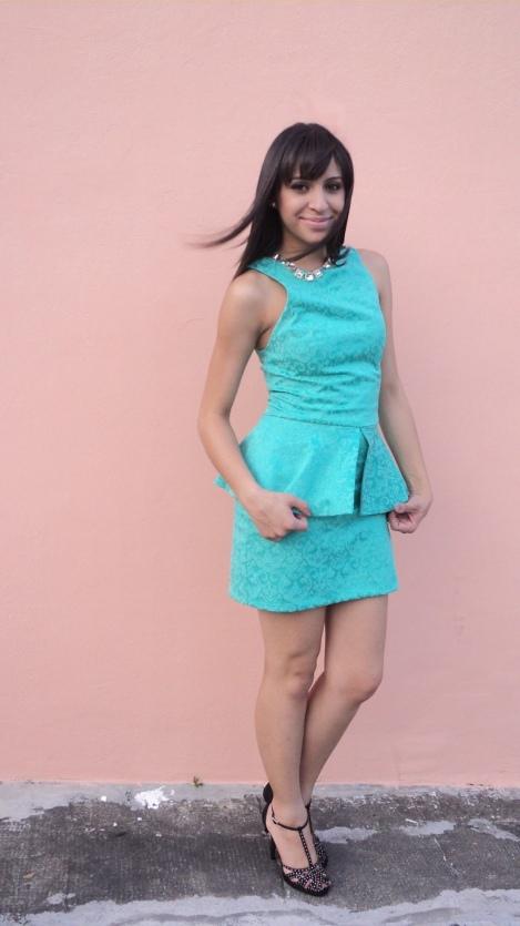 Barbara Machado - Looks -  Peplum - Babadinhos para o Verão 12