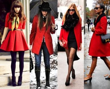 Barbara Machado - Looks - Inverno mais Charmoso - Combinação Preto + Vermelho 2