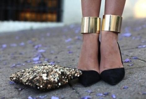 Barbara Machado - Acessórios -  Ankle Cuff - Algemas de Metal 2