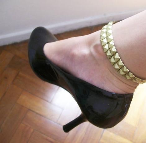 Barbara Machado - Acessórios -  Ankle Cuff - Algemas de Metal 9