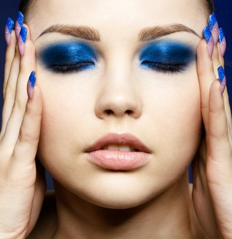 Barbara Machado - Maquiagem - Inverno Azul 01