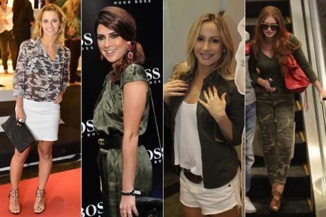Barbara Machado - Celebridades Moda Militar