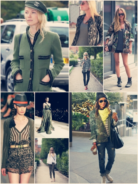 Barbara Machado - Look Militar