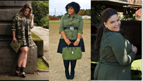 Barbara Machado - Plus Size Militar