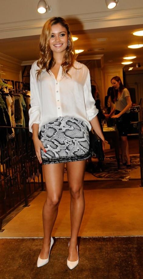 Barbara Machado - Sapatos - Scarpin Branco 1