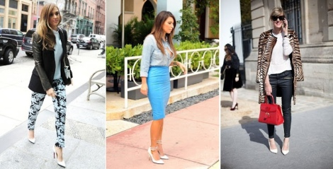 Barbara Machado - Sapatos - Scarpin Branco 4