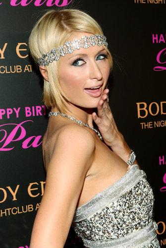 Paris Hilton's Birthday At The Hard Rock Hotel & Casino's Body English Nightclub