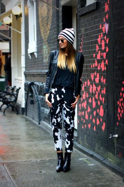 calça-estampada-de-vaca-looks-estampa-de-vaca-cow-print-looks