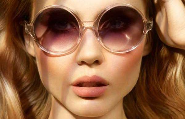 Acessórios  Óculos de Sol Redondo   Barbara Machado c9da1a7798