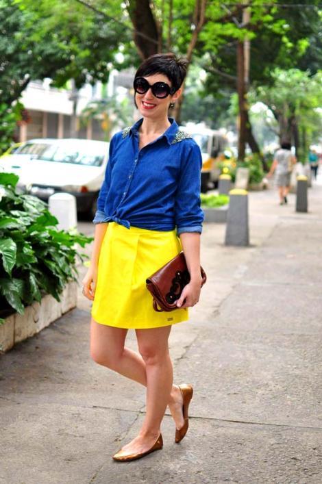 saia-amarela-jeans