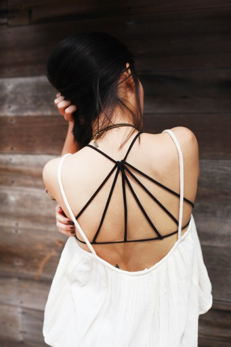 Black-strappy-back-bra