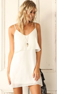 White-Frill-Slip-Dress-font-b-2016-b-font-font-b-Summer-b-font-loose-casual